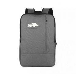 Рюкзак для ноутбука Кот и надпись Не сегодня