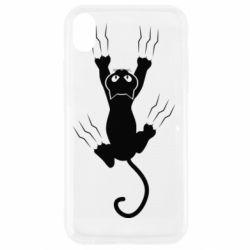 Чохол для iPhone XR кот когти