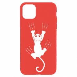 Чохол для iPhone 11 кот когти