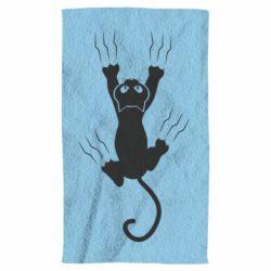 Рушник кот когти