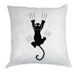 Подушка кот когти