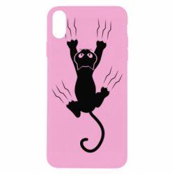 Чохол для iPhone X/Xs кот когти