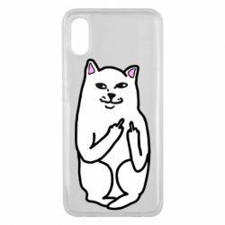 Чехол для Xiaomi Mi8 Pro Кот с факом
