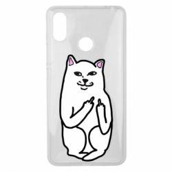 Чехол для Xiaomi Mi Max 3 Кот с факом