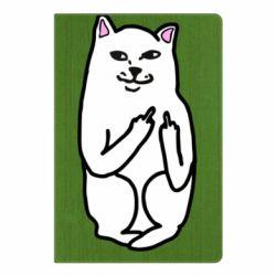 Блокнот А5 Кот с факом