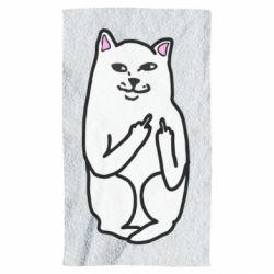 Полотенце Кот с факом