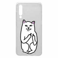 Чехол для Xiaomi Mi9 Кот с факом