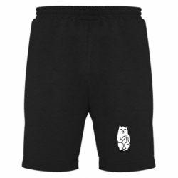 Мужские шорты Кот с факом - FatLine