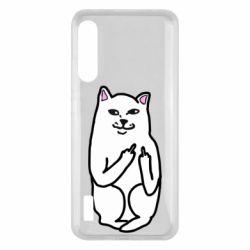 Чохол для Xiaomi Mi A3 Кот с факом