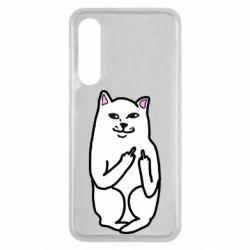 Чехол для Xiaomi Mi9 SE Кот с факом