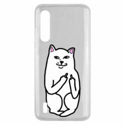 Чехол для Xiaomi Mi9 Lite Кот с факом