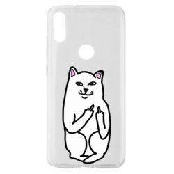 Чехол для Xiaomi Mi Play Кот с факом