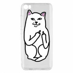 Чехол для Xiaomi Mi5/Mi5 Pro Кот с факом