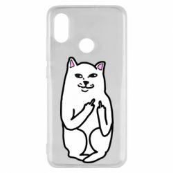 Чехол для Xiaomi Mi8 Кот с факом
