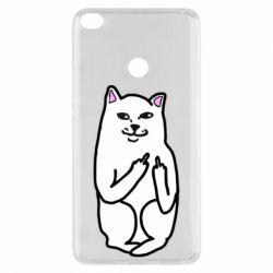 Чехол для Xiaomi Mi Max 2 Кот с факом