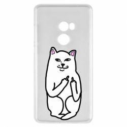 Чехол для Xiaomi Mi Mix 2 Кот с факом