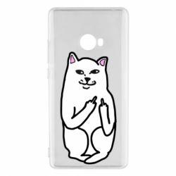 Чехол для Xiaomi Mi Note 2 Кот с факом