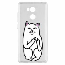 Чехол для Xiaomi Redmi 4 Pro/Prime Кот с факом
