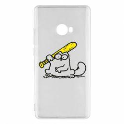 Чехол для Xiaomi Mi Note 2 Кот Саймона с битой