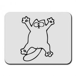 Коврик для мыши Кот-звезда