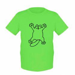Детская футболка Кот-звезда