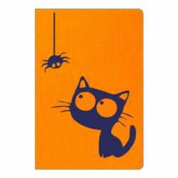 Блокнот А5 Котик и паук