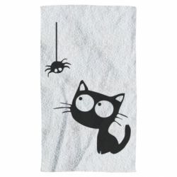 Полотенце Котик и паук