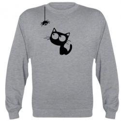 Реглан (світшот) Котик і павук - FatLine