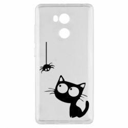 Чехол для Xiaomi Redmi 4 Pro/Prime Котик и паук