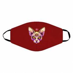 Маска для обличчя Котик сфінкс рожевий