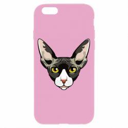 Чохол для iPhone 6/6S Котя сфінкс жовті очі