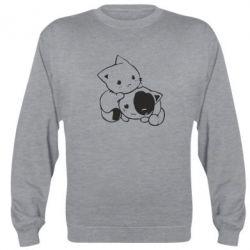 Реглан (світшот) кошенята - FatLine