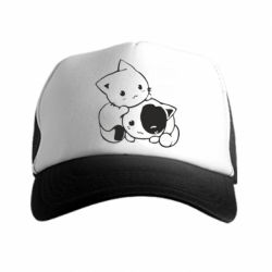 Кепка-тракер котята - FatLine