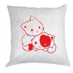 Подушка кошенята - FatLine