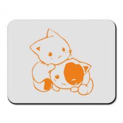 Килимок для миші кошенята - FatLine