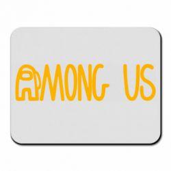 Килимок для миші Among Us Logo
