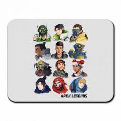 Килимок для миші Apex legends heroes