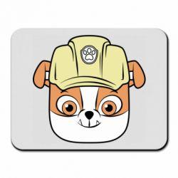 Килимок для миші Dog in helmet