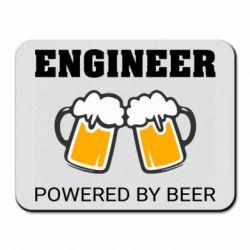 Килимок для миші Engineer Powered By Beer