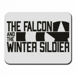 Килимок для миші Falcon and winter soldier logo