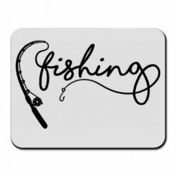 Килимок для миші Fishing and fishing rod