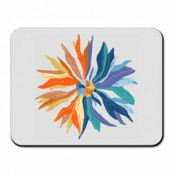 Килимок для миші Flower coat of arms of Ukraine