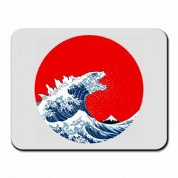 Килимок для миші Godzilla Wave