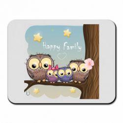 Килимок для миші Happy family