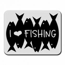 Килимок для миші I Love Fishing