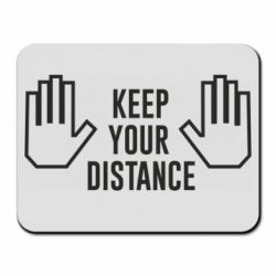 Килимок для миші Keep your distance