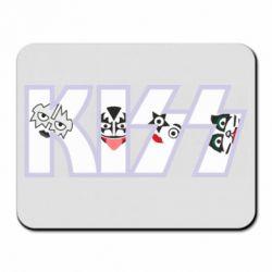 Килимок для миші Kiss the music band