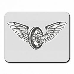 Килимок для миші Колесо та крила