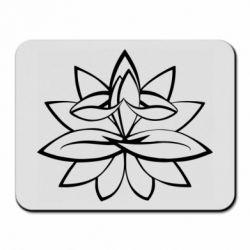Килимок для миші Lotus yoga