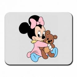 Килимок для миші Minnie And Bear